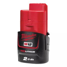 Milwaukee M12 B2 akkumulátor 2.0 Ah