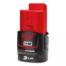 Milwaukee M12 B3 Akkumulátor 12V, 3,0Ah