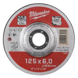 Milwaukee csiszolókorong 125x6 mm WSG28