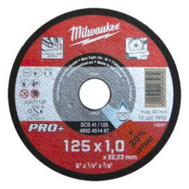 Milwaukee vágókorong vékony SCS 41/125x1mm