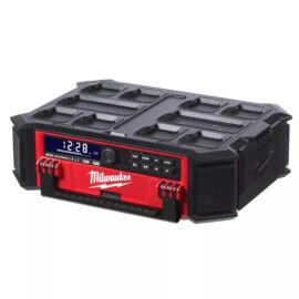 Milwaukee M18 PRCDAB+ Packout rádió/töltő