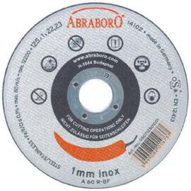 Vágókorong fémhez 125x1mm Inox Chili