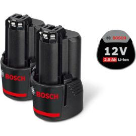 Bosch akkumulátor szett GBA 12V 2,0Ah 2db (kifutó)