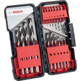 Bosch HSS PointTeQ fémfúró készlet 18 db-osToughBox