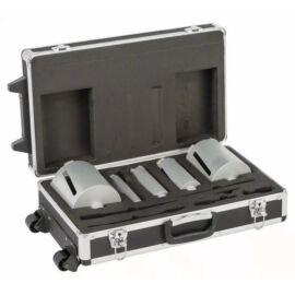 Bosch gyémánt fúrókorona készlet 5 db-os + adapterek, kofferben