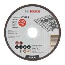 Bosch vágókorong 125x1,0mm Standard for Inox