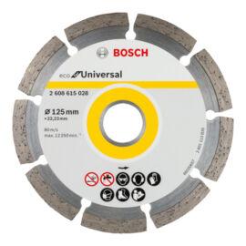 Bosch gyémánt vágókorong 125 mm ECO