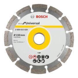 Bosch gyémánt vágókorong 150 mm ECO for Universal