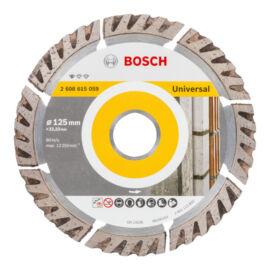 Bosch gyémánt vágókorong 125mm Standard for Universal