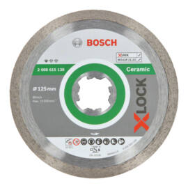 Bosch X-LOCK gyémánt vágókorong folyamatos 125mm