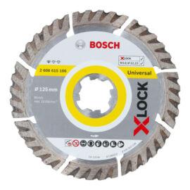 Bosch X-LOCK gyémánt vágókorong turbo 125mm