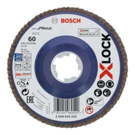Bosch X-LOCK lamellás csiszolókorong 125mm Z60