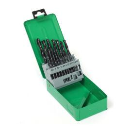 Fémcsigafúró készlet HSS 1-10 mm 19 részes