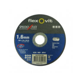 Speedo flex vágókorong 125x1,6mm Inox