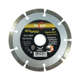 For Cut Eco Speed gyémánt vágókorong 125mm szegmenses ECO-1009