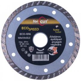 For Cut Eco Speed gyémánt vágókorong 125mm turbo ECO-1016