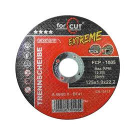 For cut vágókorong 125x1mm Inox (FCP-1005)