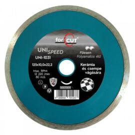 For Cut Uni Speed gyémánt vágókorong 125mm csempére UNI-1031
