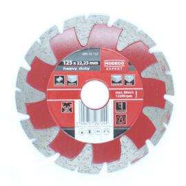 Gyémánt vágókorong 125mm szegmenses Modeco 78133