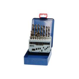 Fémcsigafúró készlet HSS-E Co5 19 db-os Bohrcraft fém dobozban