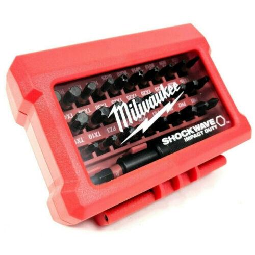 Milwaukee csavarozó szett 32 db Shockwave bitek
