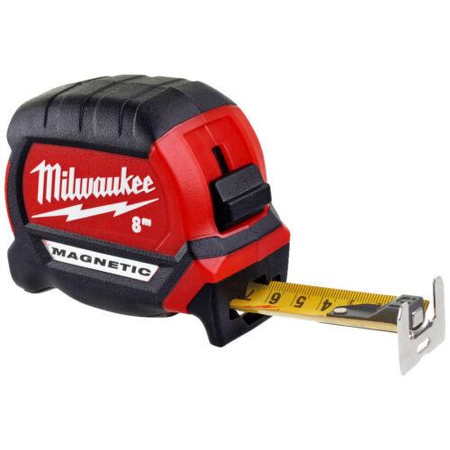 Milwaukee mérőszalag mágneses 8m/27mm