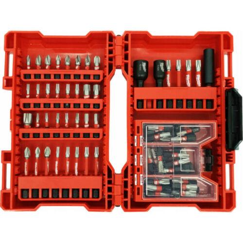 Milwaukee 75db-os Bit készlet Shockwave Box