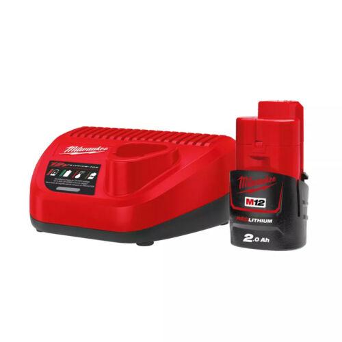 M12™ NRG szett (2.0 Ah akkumulátor + C12 C töltő)