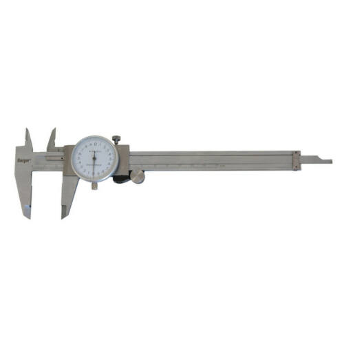 Mérőórás tolómérő mélységmérővel 150/0,02mm Berger