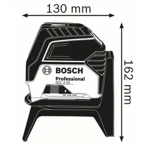Bosch GCL 2-15 szintező lézer