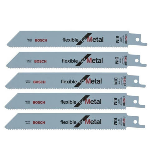 Bosch szablyafűrészlap fémhez (5db/cs) 150x19x0,9mm  S922BF BIM (kifutó)