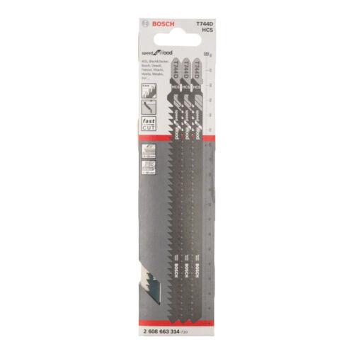 Bosch szúrófűrészlap T744 3db