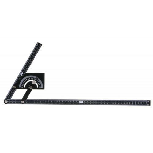 Szögmérő 0°-180° 230x500mm Hobby