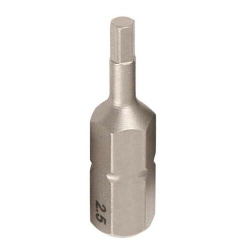 """Bit behajtóhegy 1/4"""" 2,5x25mm hatszög (imbusz)"""