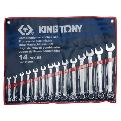 Csillag-villáskulcs klt. 8-24 mm 14 db King Tony
