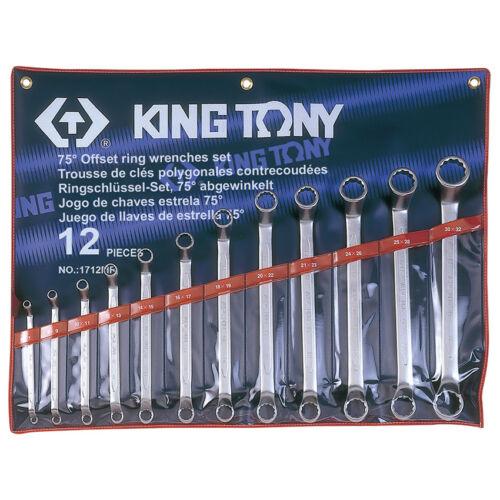 Csillagkulcs klt. 6-32 mm 12 db King Tony