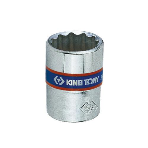 "Dugókulcs fej 1/4"" 12 szögű 6 mm King Tony"