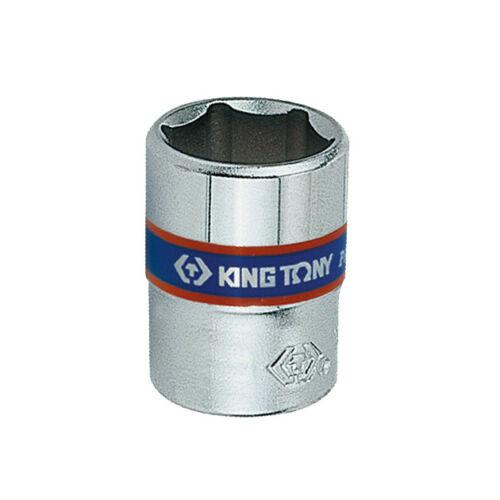 "Dugókulcs fej 1/4"" 6 szögű 12mm King Tony"