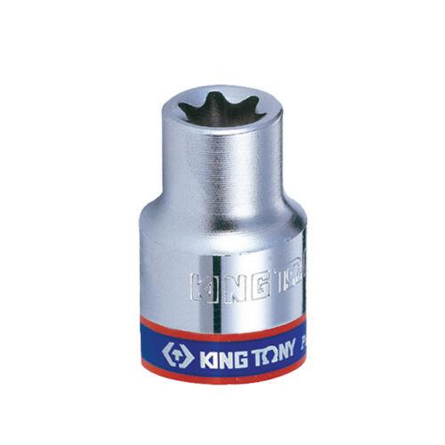"""Dugókulcs fej 1/4"""" Torx E6 King Tony"""