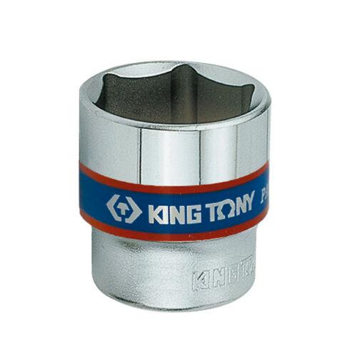 "Dugókulcs fej 3/8"" 6 szögű 12mm King Tony"