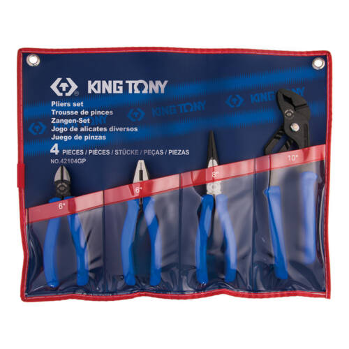 Fogó készlet 4db King Tony