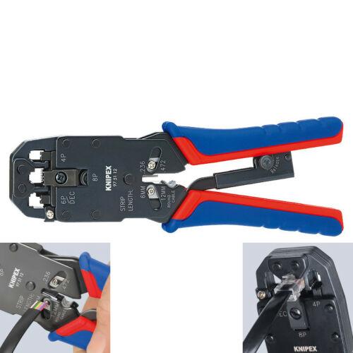 Knipex présfogó telefon csatlakozóhoz 4/6/8 eres hez 200mm
