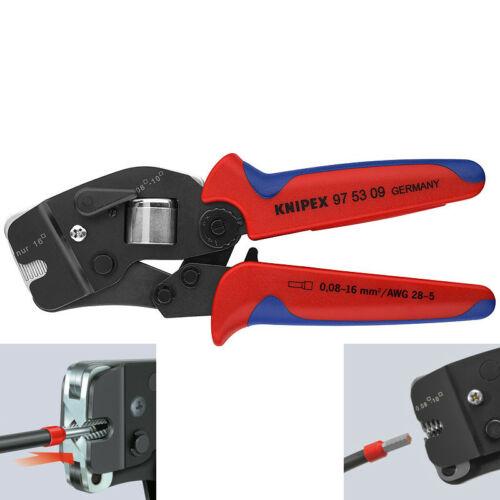 Knipex önbeálló érvéghüvelyező fogó 4 tüskés 0,08-10+16mm2