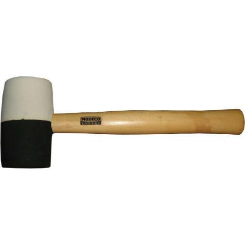 Gumikalapács fekete-fehér 0,34kg Modeco 31212