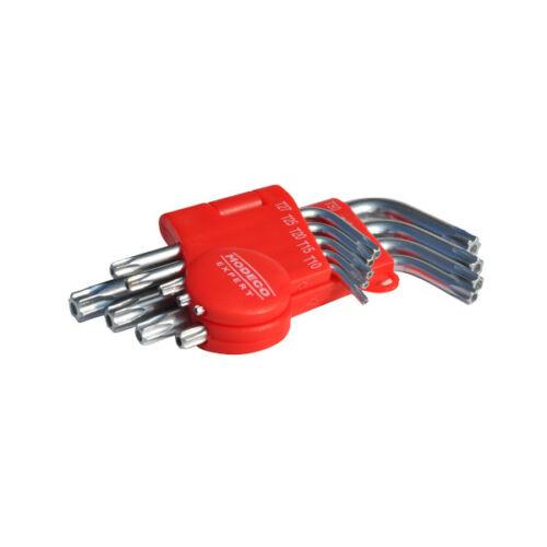 Torx kulcs készlet 9db Modeco 54106