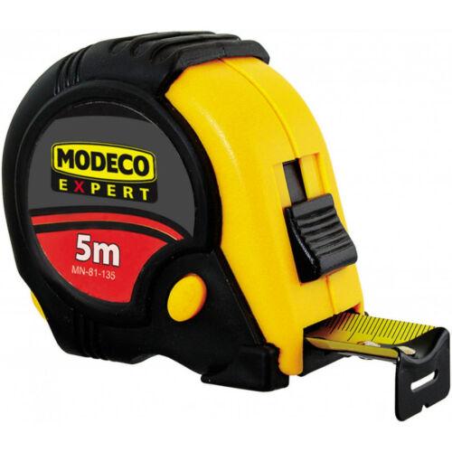 Mérőszalag gumírozott 5m Modeco  81135