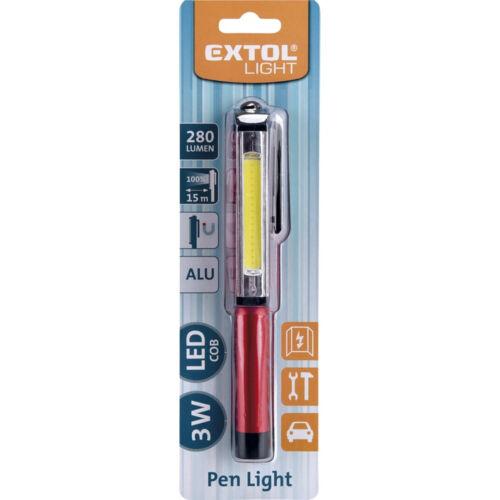 LED toll lámpa 3W 280Lm 3xAAA Extol
