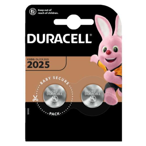 Duracell Gombelem Lithium CR2025 (3V) B2