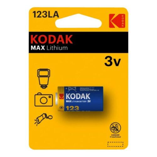 Kodak Ultra Lithium Fotó elem 3V CR123 LA