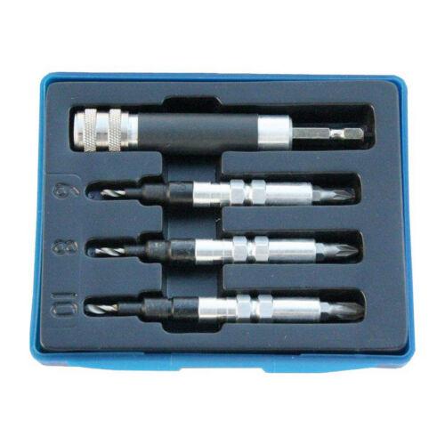 Z-Tools előfúró-csavarozó-süllyesztő készlet PZ1; PZ2; PZ3